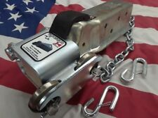 "Demco E-Z Latch 2"", 2 5/16"" trailer coupler lock, Hand Made in Wichita, Ks. USA"