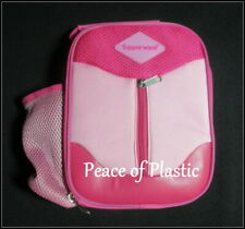 Tupperware-New~Logo Lunch Bag ~Pink