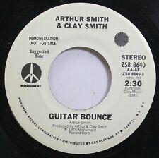 Country Promo 45 Arthur Smith & Clay Smith - Guitar Bounce / Have A Good Day On