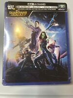 GUARDIANS OF THE GALAXY (4K Ultra + Blu-ray) STEELBOOK New Sealed
