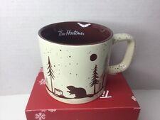 Tim Hortons 2019 Holiday Mug Winter Beaver
