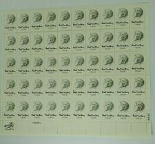 1978 Carl Sandburg 13 Cent Sheet of 50 Mint