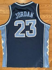 UNC North Carolina Tar Heels Nike Elite Jersey Michael Jordan Large New
