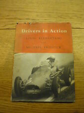 DRIVERS IN ACTION MOTOR RACING BOOK jm