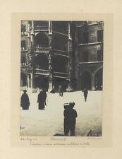 Munich Hôtel de ville Allemagne Photographie artistique Vintage argentique 191