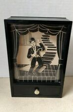 Vintage YAPS CHARLIE CHAPLIN The Little Tramp Dancing Music Box 1981