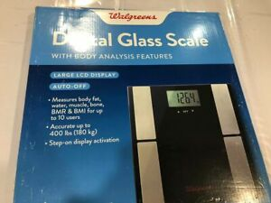 WALG DIGITAL GLASS SCALE