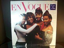 Original En Vogue You Don't Have To Worry Single 1990  Vinyl Record Album
