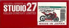 STUDIO27 1/12 Trans Kit HONDA RC 211V test '01