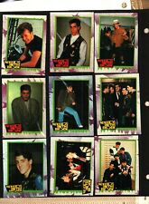 1990 TOPPS NEW KIDS ON THE BLOCK SERIES 2 LOT OF 43 CARDS ALMOST 1/2 OF THE SET