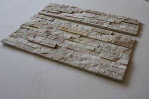 1 Muster Marmor Natursteinwand Wandverblender Riemchen Echtstein Fliesen 44€/m²