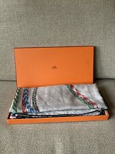 Hermes Robe Du Soir 140cm Cashmere Silk Scarf