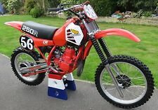 VINTAGE MOTOCROSS Honda 1981 sticker decal kit CR250R RC250 Works AHRMA CR 250R