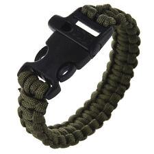 23cm Strap braccialetto di paracord paracadute di sopravvivenza corda K8J8
