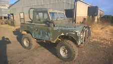 Land rover 1960s special, project vehicle