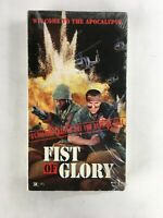 Fist Of Glory Rare Vietnam War Action VHS 1991 Dale Apollo Cook Maurice Smith