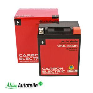 YB14L-BS Gel Batterie 12V 14 Ah für Quad Motorrad Motorroller Mofa