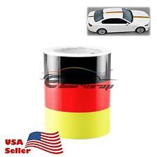"3""x59"" Germany Flag Stripe Decal Stickers For Audi BMW Mercedes MINI Porsche VW"