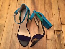 BOTKIER GIANNA SUEDE ANKLE STRAP HEEL SHOES NEW SIZE 6.5
