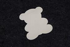 10 étiquettes ourson ivoire, marque-place. Décoration de baptême