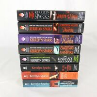 Lot of 8 Kerrelyn Sparks Paperbacks Love at Stake Series 1-2 and 4 to 9 Romance