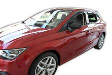 Seat Ibiza V 5 door 2017-up wind deflectors 4pc set TINTED HEKO