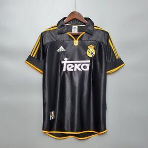 1998-99 Real Madrid Away Retro Soccer Jersey