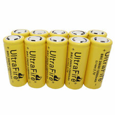 10X 26650 Li-ion Battery 12800mAh 3.7V BRC Rechargeable Batteries for Torch Toy