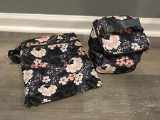 Sarah Wells Lizzy Insulated Bottle Wet/Dry Zipper Bag Accessories Clean Euc