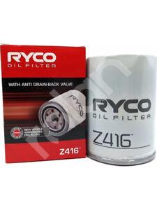 Ryco Oil Filter FOR NISSAN PATROL Y60 (Z416)