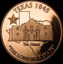 The Alamo - Texas    1oz .999 copper round