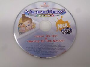 VideoNow Color Disc Jimmy Neutron Jimmy on Ice / Battle of the Bands
