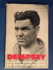 Jack Dempsey Signed Book - Autobiography - Dempsey - By The Man Himself