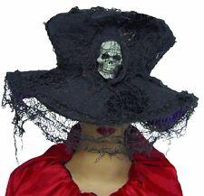 Creepy Grey Skull Hat