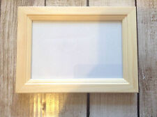 10 x Unfinished pine photo frame paint yourself Crafting 4 x 6 Decorative frame