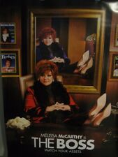 """The Boss Original Movie Poster Double Sided 27"""" x 40"""" Melissa McCarthy Kristen"""