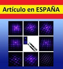 9x PATRONES Puntero Laser AZUL militar GRAN ALCANCE laser pointer 532nm<1mW