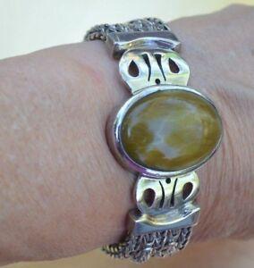 Bracelet ''90'' grams Sterling Bali Artisan Handmade Chain 'Outlander Inspired'