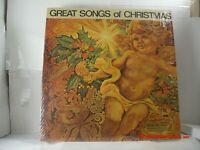 GREAT SONGS OF CHRISTMAS -(LP)- VARIOUS ARTISTS - BARBRA STREISAND - ETC. - 1966