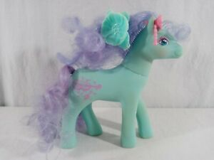 1988 My Little Pony G1 Sweetheart Sister Daisy Dancer Pony with Blue Barrette