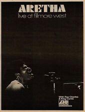 Aretha Franklin Fillmore West UK LP Advert 1971