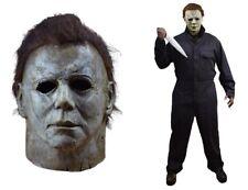 Halloween 2018 MICHAEL MYERS Latex Mask + 2018 Coveralls Trick or Treat Studios