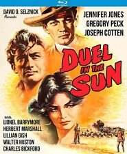 DUEL IN THE SUN (Gregory Peck)  - Region A - BLU RAY   - Sealed