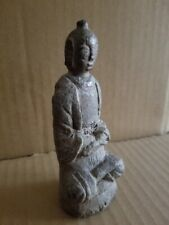 Korean Joseon Dynasty Stone Buddha Statue / W 5.5× H 13.5 [cm]