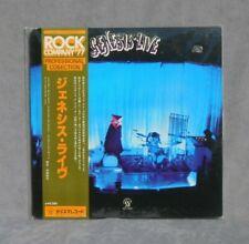 GENESIS LIVE Vintage 1977 Vinyl Art Prog Rock OBI Japan SEALED Clean & Crisp Ex!