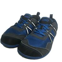Xero Shoes Mens Ipari Prio Running Shoes Blue Gray Lace Up Low Top Mesh Size 8