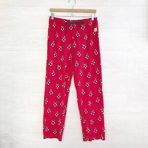 NWT Nautica - Red lifesaver holly wreath holiday pajama pants, sz M