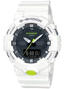 Casio G-Shock *GA800SC-7A Midsize Anadigi White Resin Watch COD PayPal