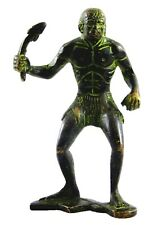 African Man Vintage Antique Style Handmade Brass Figure Statue Idol Home Decor