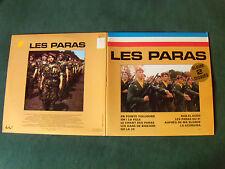 LES PARAS, ALBUM 2 DISQUES LP 33T réédition, pochette ouvrante FESTIVAL A 397